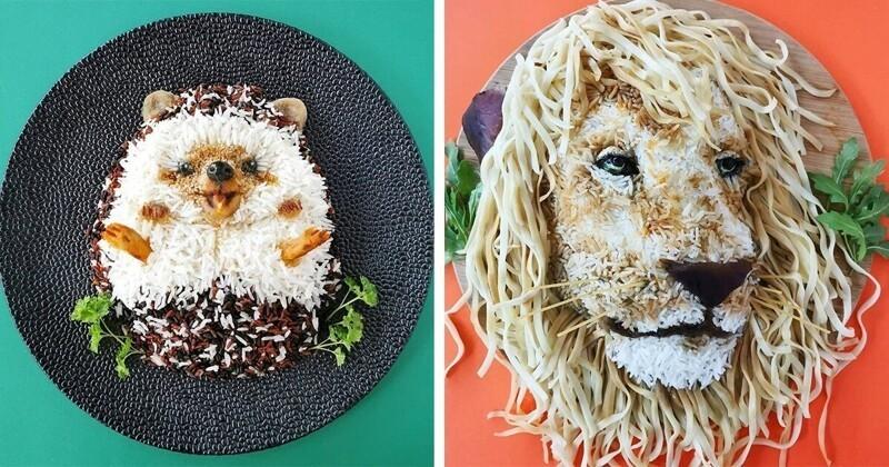 Креативная мама превратила еду в искусство (22фото)