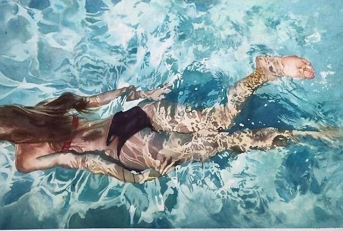 Потрясающе реалистичные картины бразильского художника Маркоса Беккари (27фото)