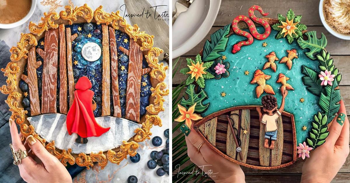 17 пирогов, которые слишком прекрасны, чтобы их есть (18фото)
