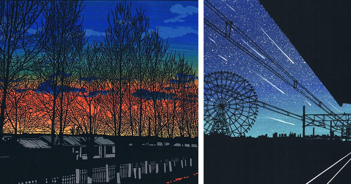 Совсем как фото: удивительные работы японского художника (23фото)