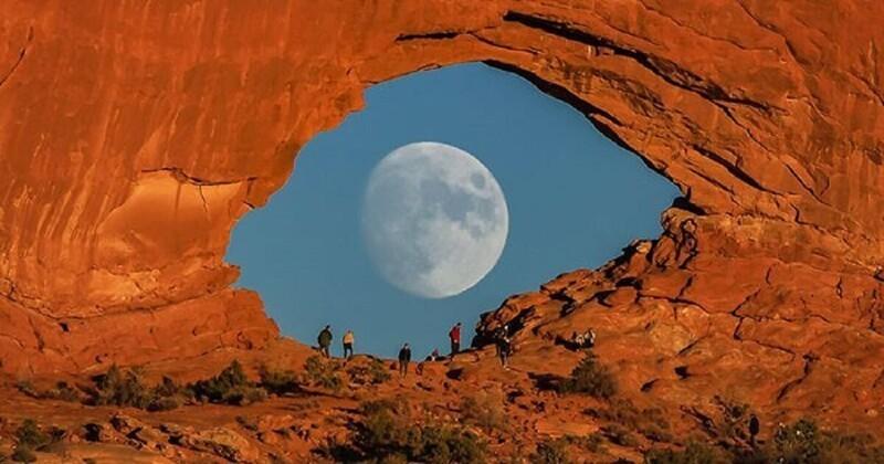Фотограф снимает невероятную Луну без фотошопа (31фото)