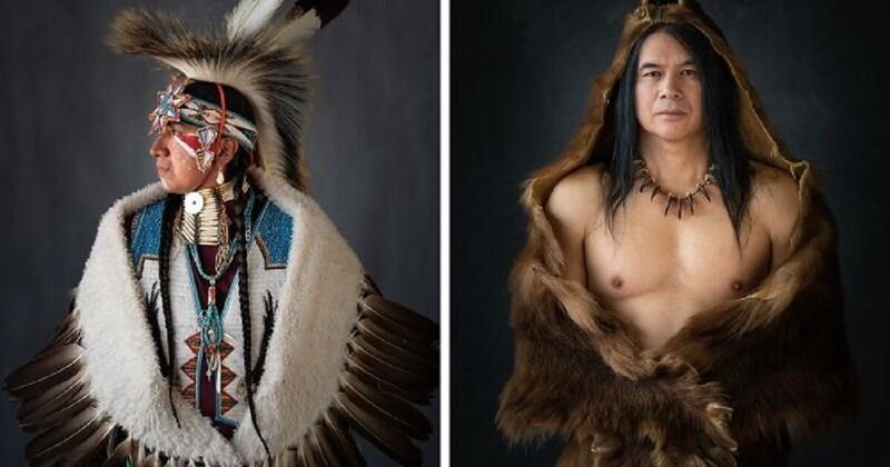Ритуальные костюмы американских индейцев (18фото)