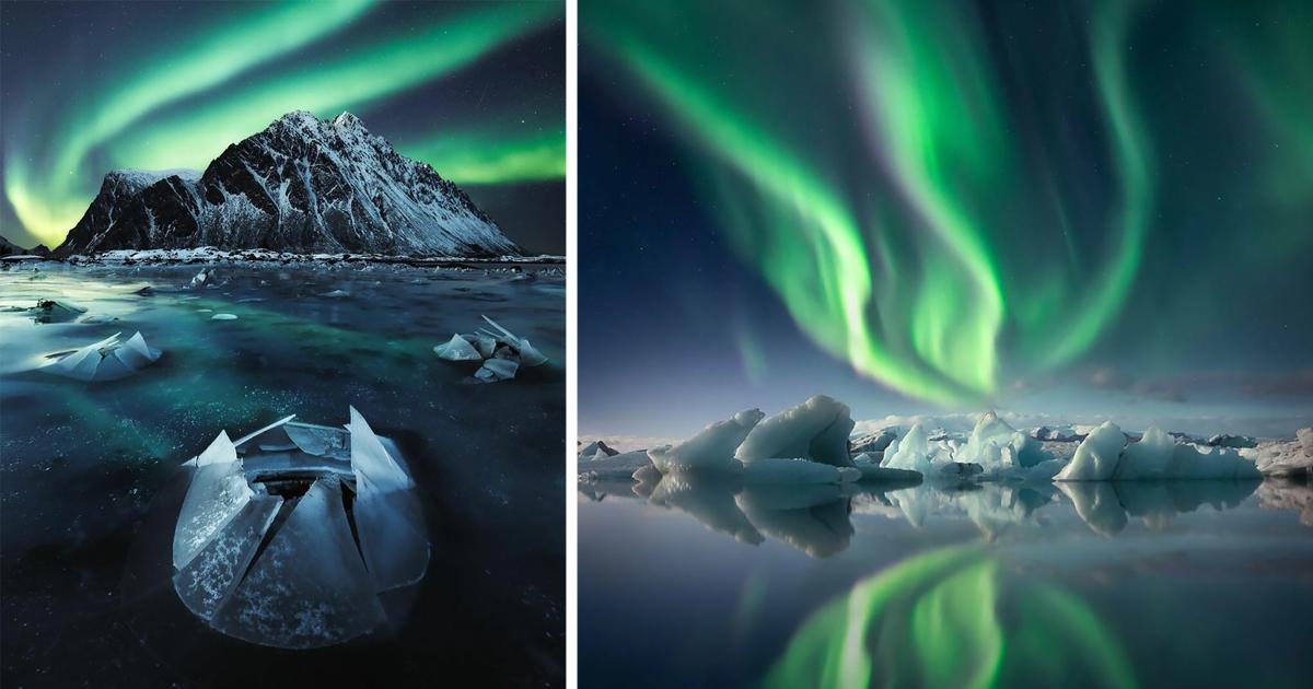 25 победителей конкурса фотографий северного сияния (26фото)