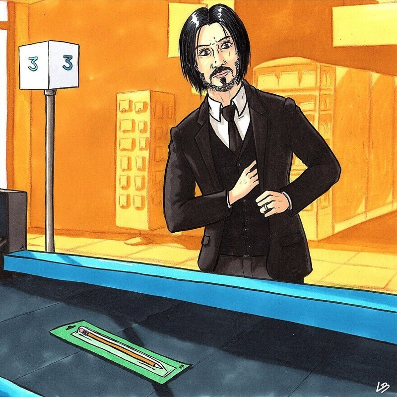 Что купили бы известные персонажи, окажись они в супермаркете (29фото)
