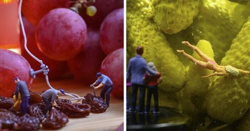 Венгерский художник создает микромиры (21фото)