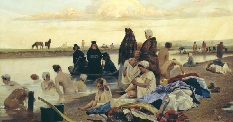 Картина Репина «Приплыли»: что означает эта фраза и почему она удивила бы художника (7фото)