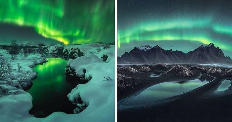 25 победителей фотоконкурса на самое впечатляющее полярное сияние (26фото)