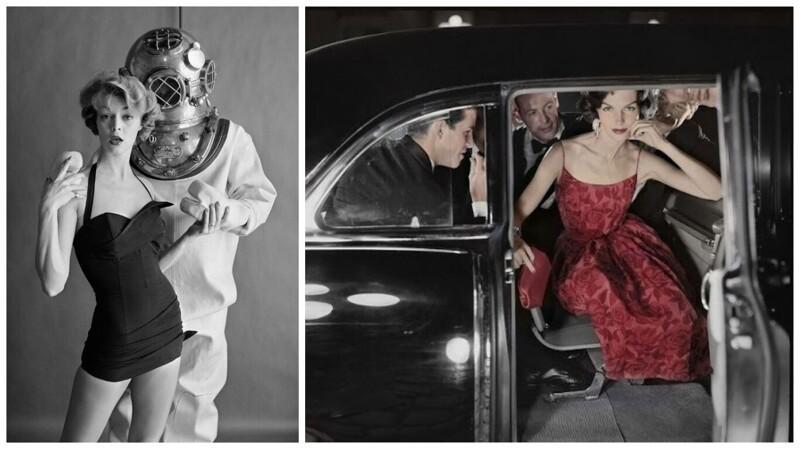 Уильям Хелберн, модный фотограф 50-х, и его прекрасные снимки (23фото)