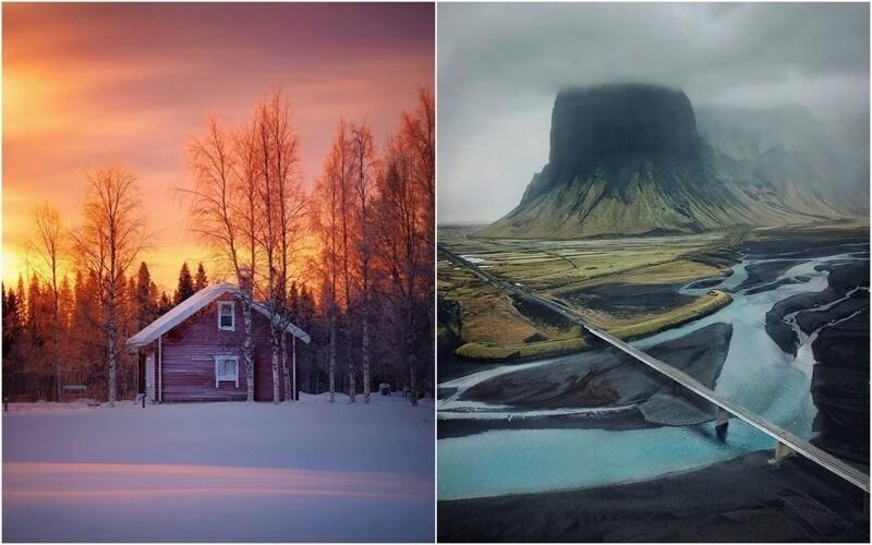 Суровая красота Финляндии и Исландии на фотографиях Эсси Траутвейн (26фото)