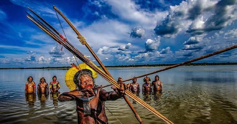 Хранители Амазонки: как живут коренные племена Бразилии сегодня (14фото)