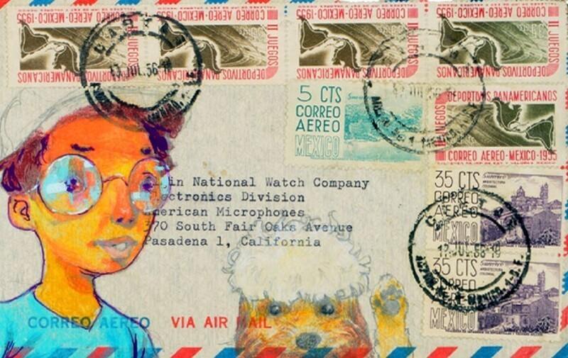 Художники рисуют надежду на конвертах (13фото)