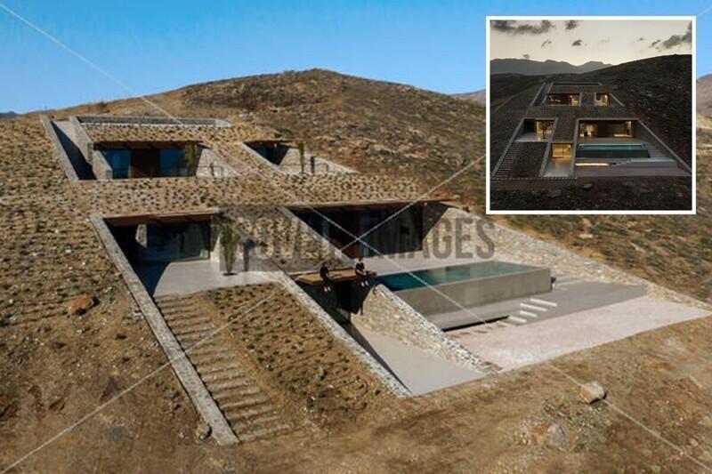 Этот дом в скале отлично подошел бы злодею из бондианы! (10фото)