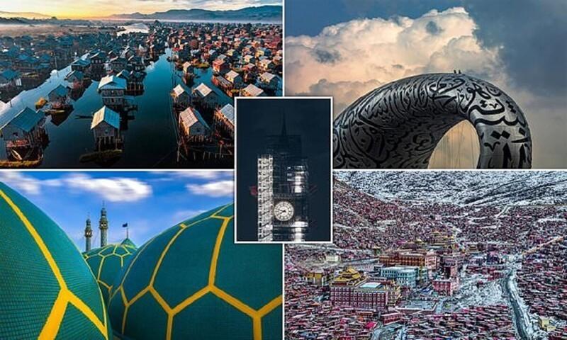 Конкурс архитектурной фотографии объявил победителей (16фото)