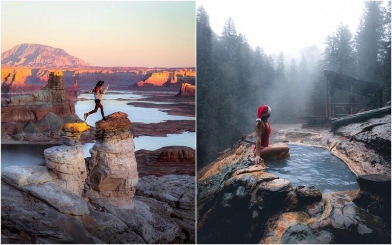 Красивые фотографии из путешествий Келси Джонсон (26фото)