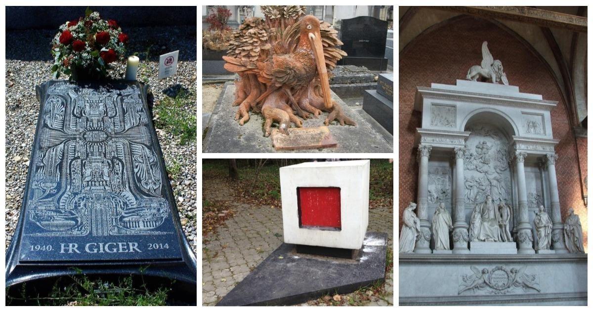 Мертвые города: 10 могил знаменитых художников, которые похожи на произведения искусства (28фото)