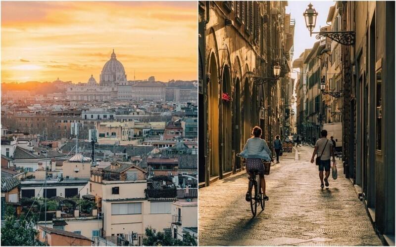 Улицы итальянских городов на снимках Давида Ориккио (26фото)