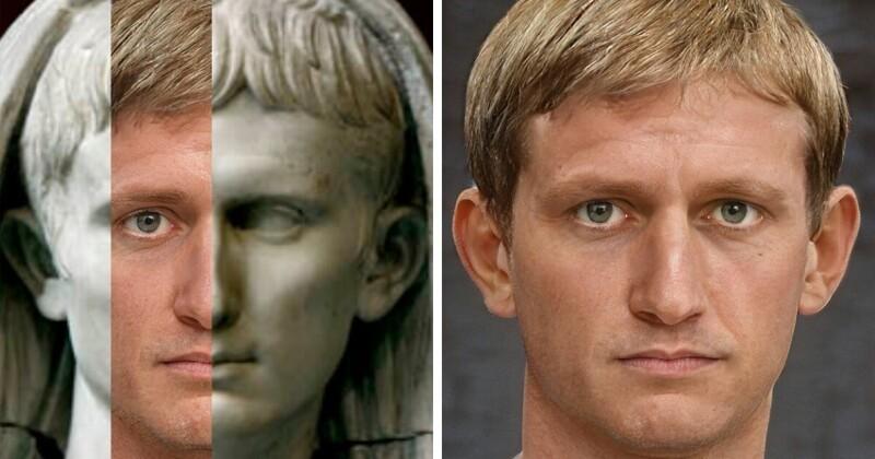 Как могли бы выглядеть великие римские императоры (16фото)