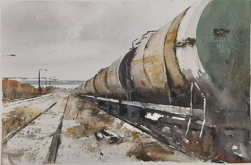 Нарисованное железнодорожье (30фото)