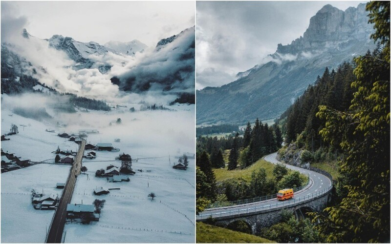 Увлекательные фотографии из путешествий Даниэля Шифферли (25фото)