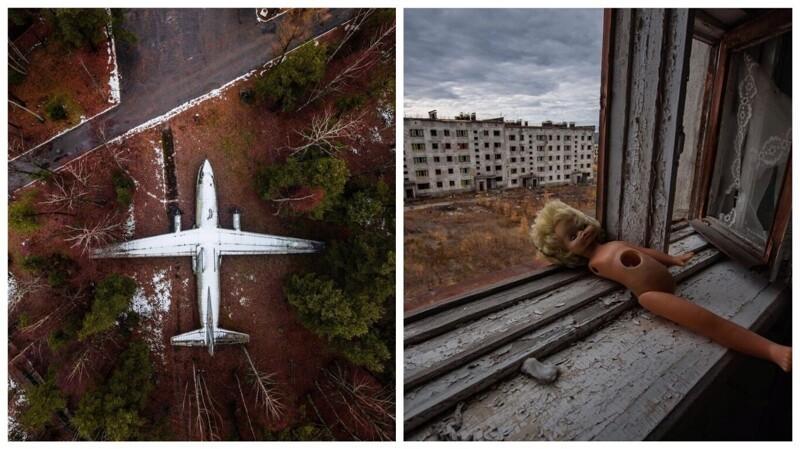 Заброшенные места России: потрясающие фотографии Александра Сухарева (46фото)