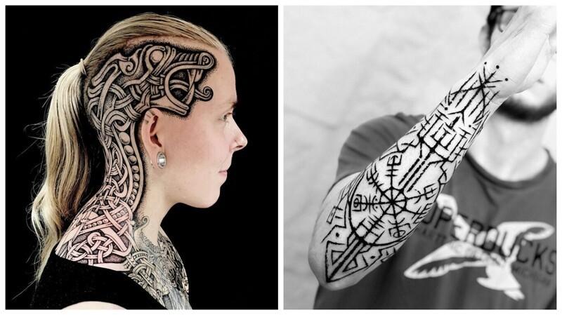 30 крутых татуировок для настоящих викингов (31фото)