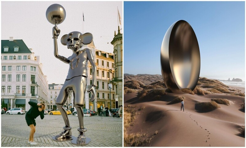 Другое искусство: крутейшие фантазии скульптора Кена Келлехера (40фото)