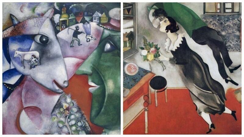 5 знаменитых работ Марка Шагала, которые поражают необычностью и красотой (6фото)