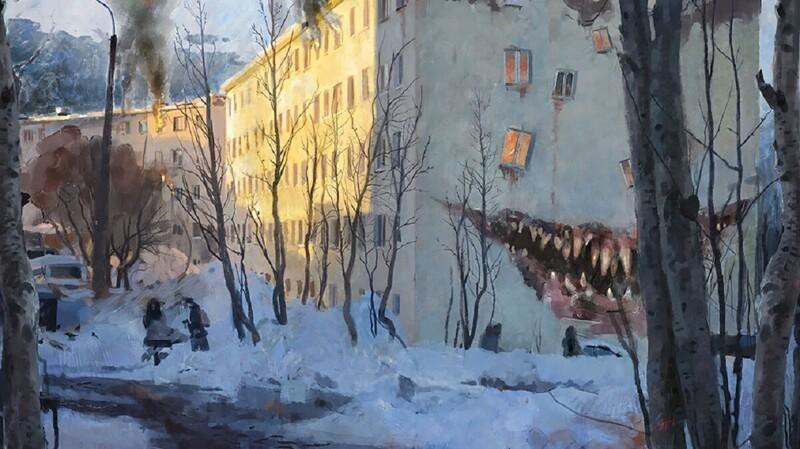 Художник приглашает в провинциальный мир ужасов (41фото)