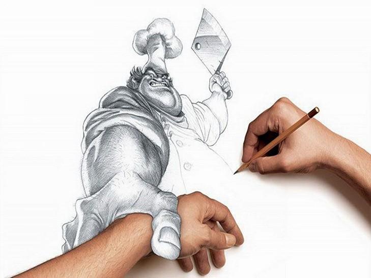 35 невероятных 3D-рисунков карандашом
