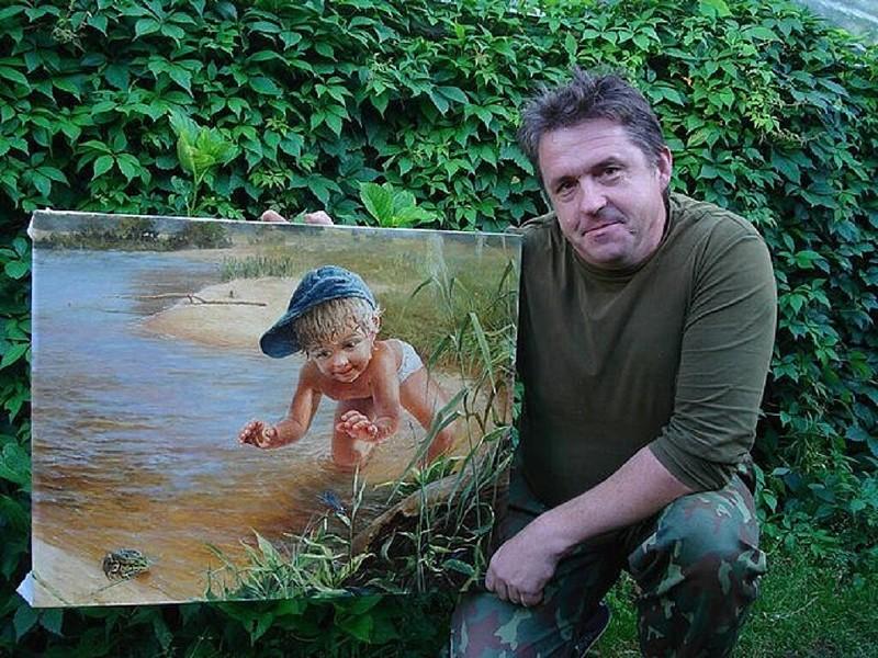 Потрясающие картины от художника Леоновича В.Н (15фото)