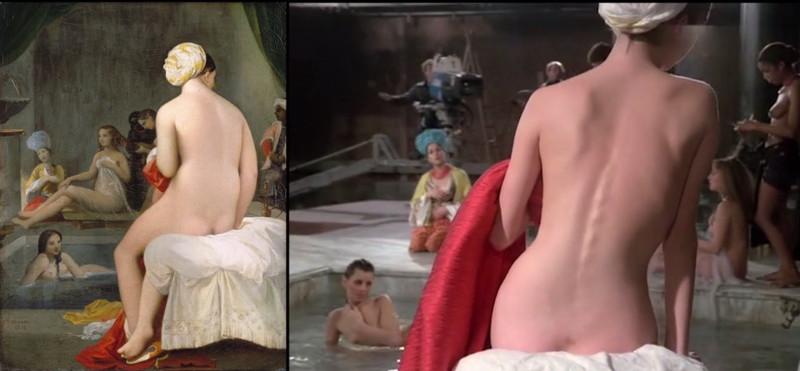 Известные кинокадры, которые были позаимствованы у знаменитых шедевров живописи (12фото)