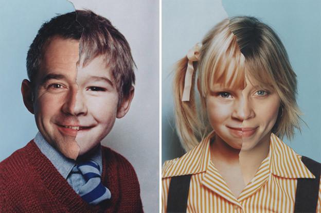 Фотопроект «AgeMaps»: как меняется лицо человека с возрастом (19фото)