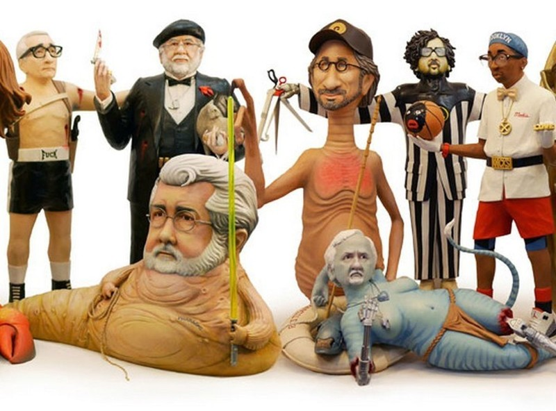 Знаменитые режиссеры в образах прославивших их персонажей (17фото)