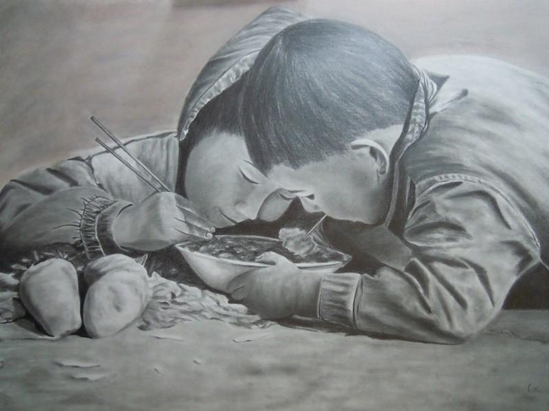 Цепляя за душу: проникновенная серия работ от испанского художника (12фото)