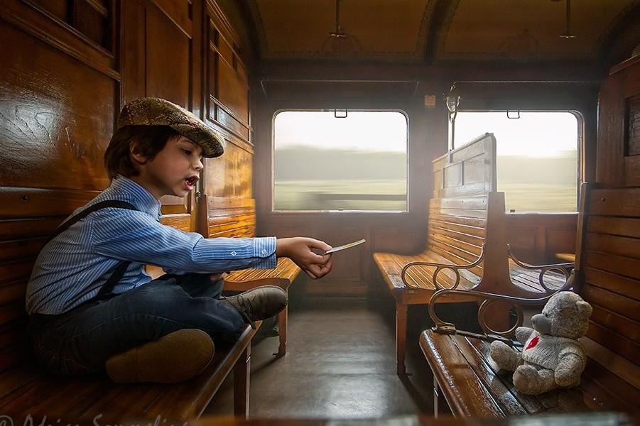 Необыкновенное детство в кадре фотографа Эдриана Соммелинга (23фото)