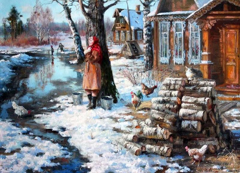 Работы художника из Омска (15фото)