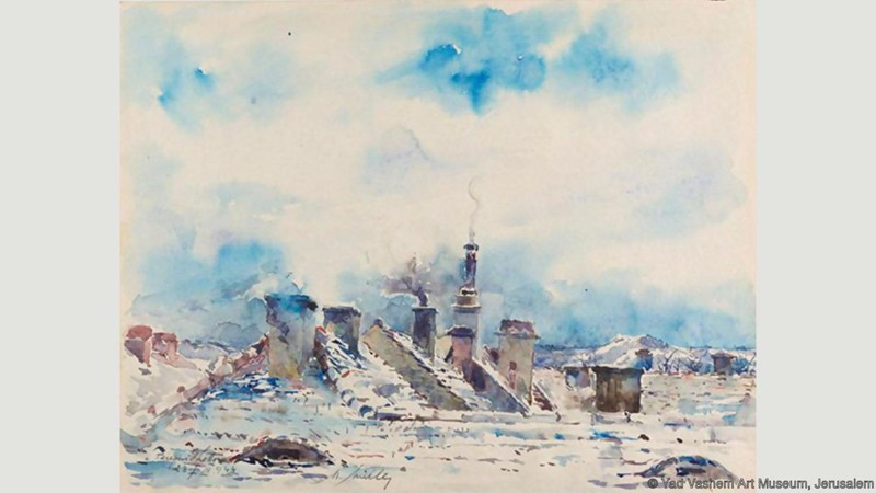 «Искусство Холокоста»: выставка работ художников-узников концлагерей (9фото)