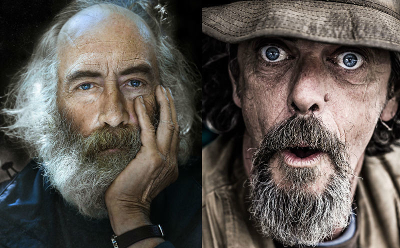 У них тоже есть душа: фотограф снимает портреты бездомных людей (21фото)