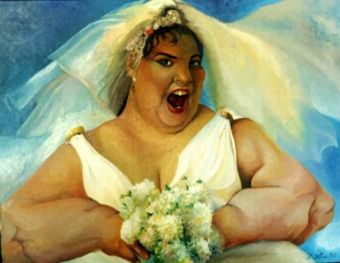 Толстушки на века – красавицы в искусстве (20фото)