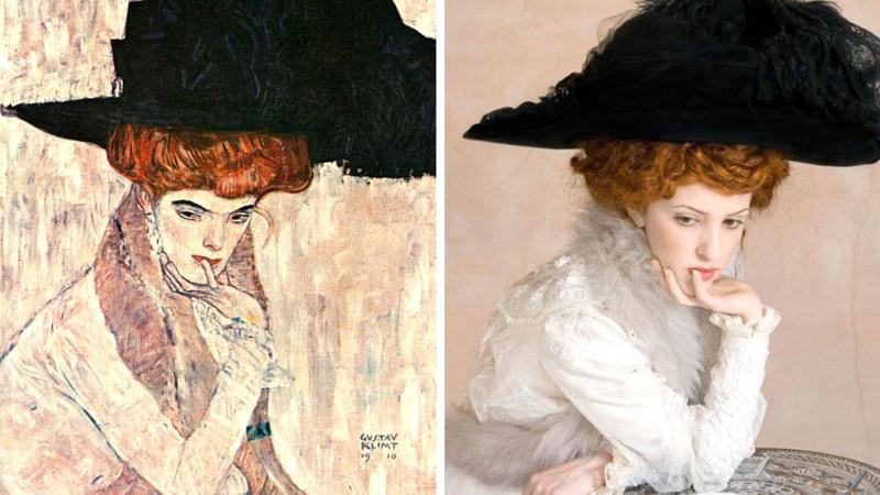 Художники из Нью-Йорка воссоздают шедевры мировой живописи в наши дни (14фото)