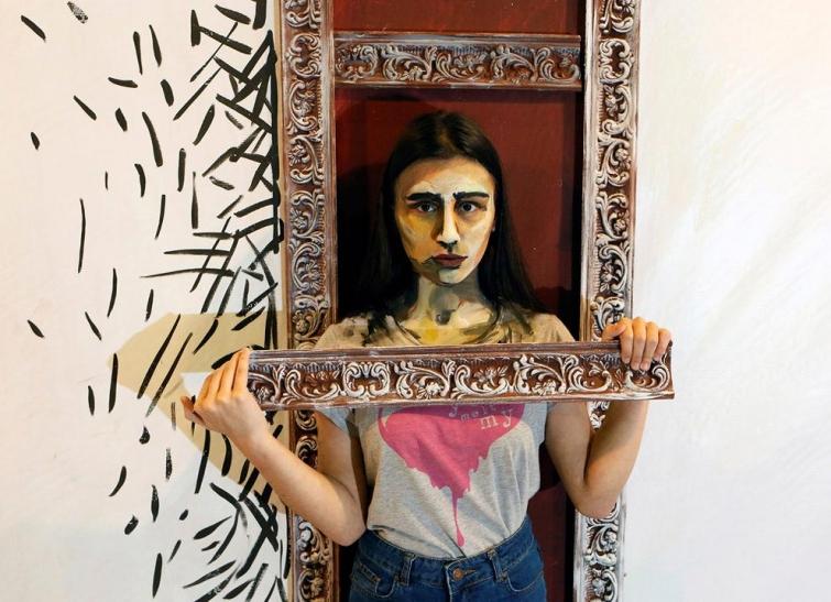 Российская художница рисует на живых моделях, превращая их в персонажей акварельных картин (11 фото)