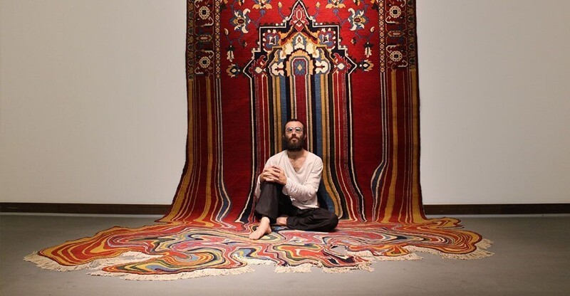 Бакинский мастер Фаиг Ахмед и его волшебные ковры (12фото)