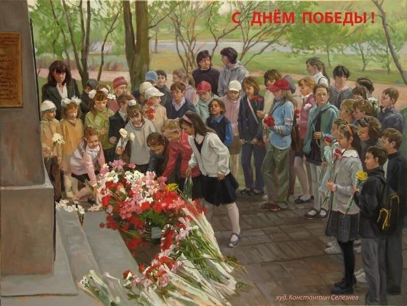 Пейзажи и натюрморты современного российского художника Константина (32фото)