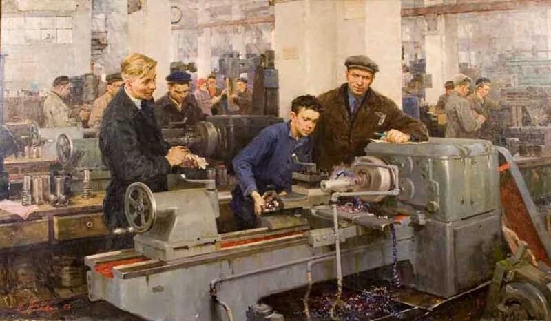Виртуальная галерея. Искусство Советского Союза. Соцреализм (19фото)