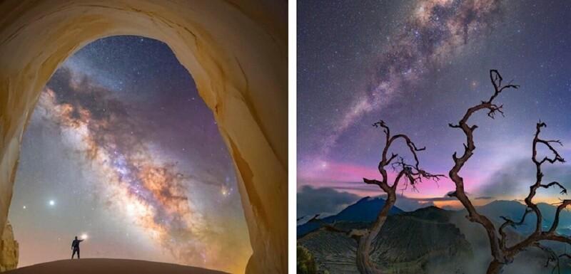Лучшие фотоснимки Млечного пути 2021 года (15фото)
