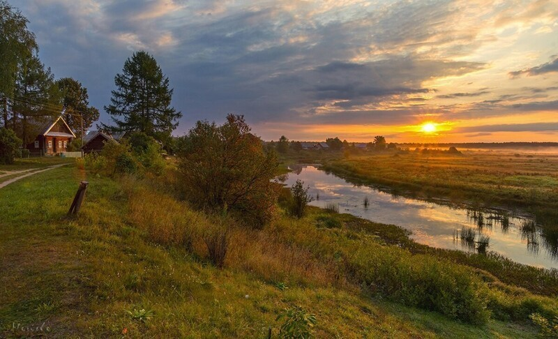 Красивые пейзажи сельской местности (25фото)