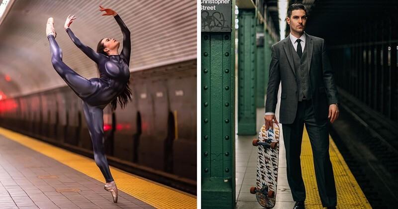 Кого только не увидишь в метро в Нью-Йорке! (37фото)