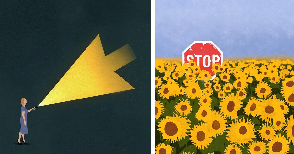 13 оригинальных постеров со скрытым смыслом (16фото)