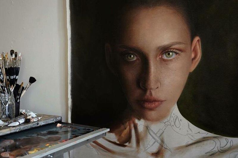 Потрясающие гиперреалистичные портреты (25фото)