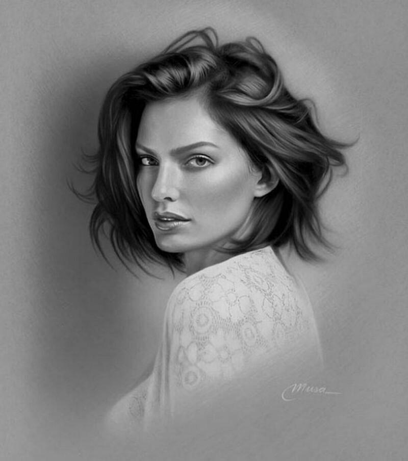 Фотореалистичные рисунки карандашом (31фото)